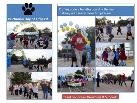 Buchanan Celebrates Fitness!