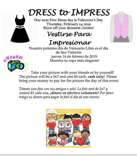 Dress to Impress on February 14th