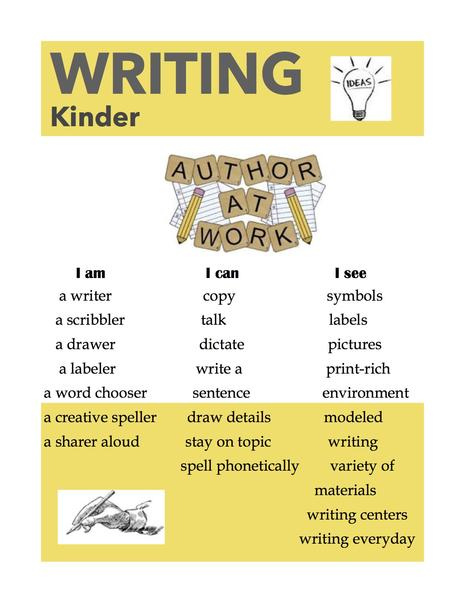 Kinder Writers
